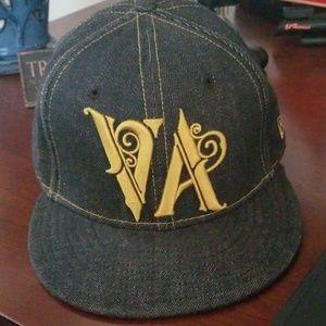 RVCA NEW ERA HAT 7 1/2